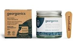 Georganics økologisk tandpasta med mineraler og tvekulsurt natron